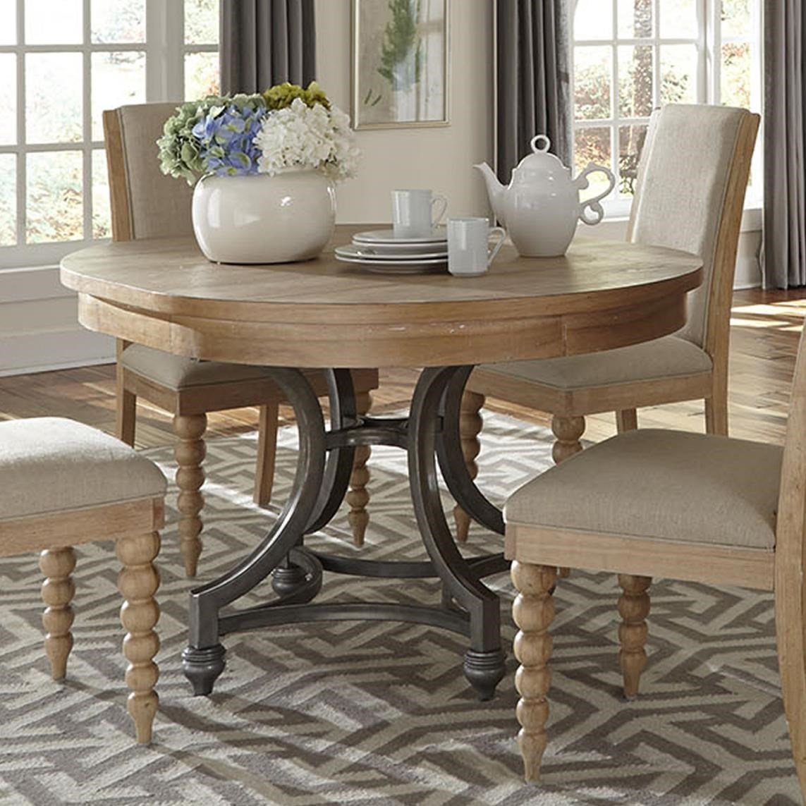 Liberty Furniture Harbor ViewRound Dining Table Harbor
