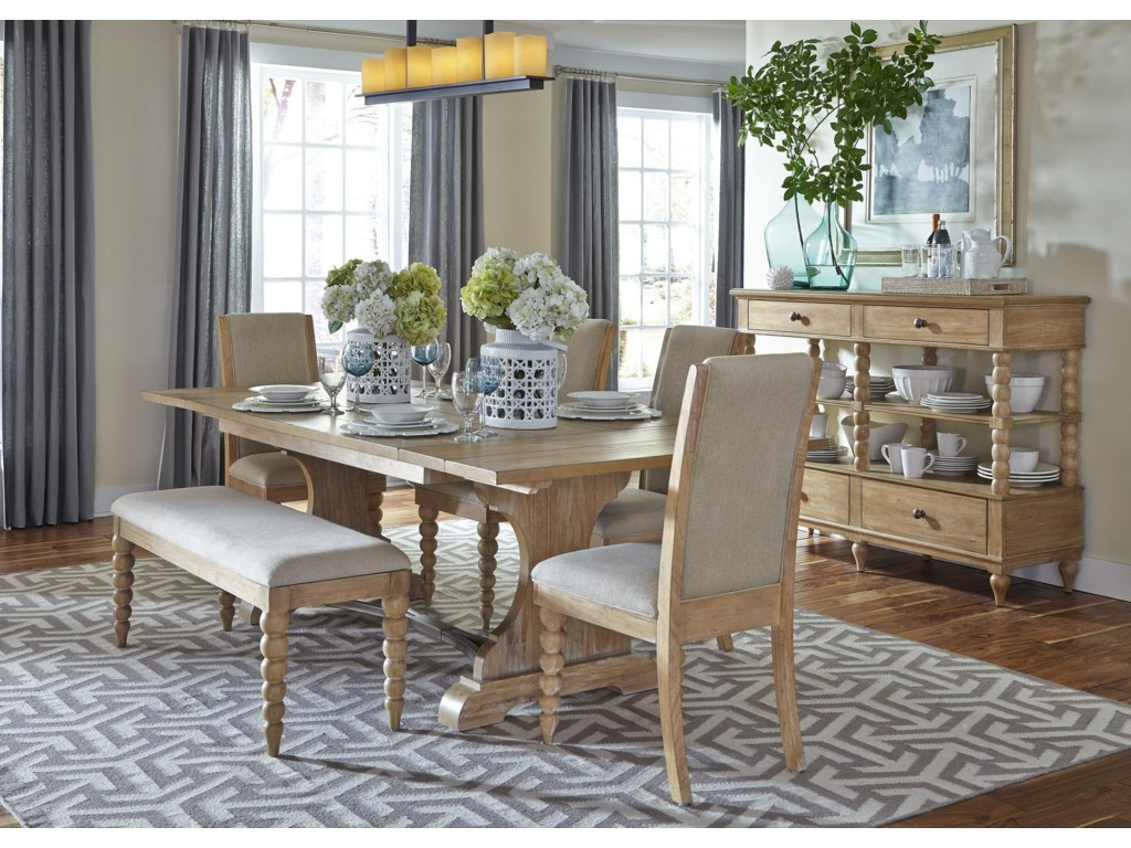 Liberty Furniture Harbor ViewTrestle Dining Table