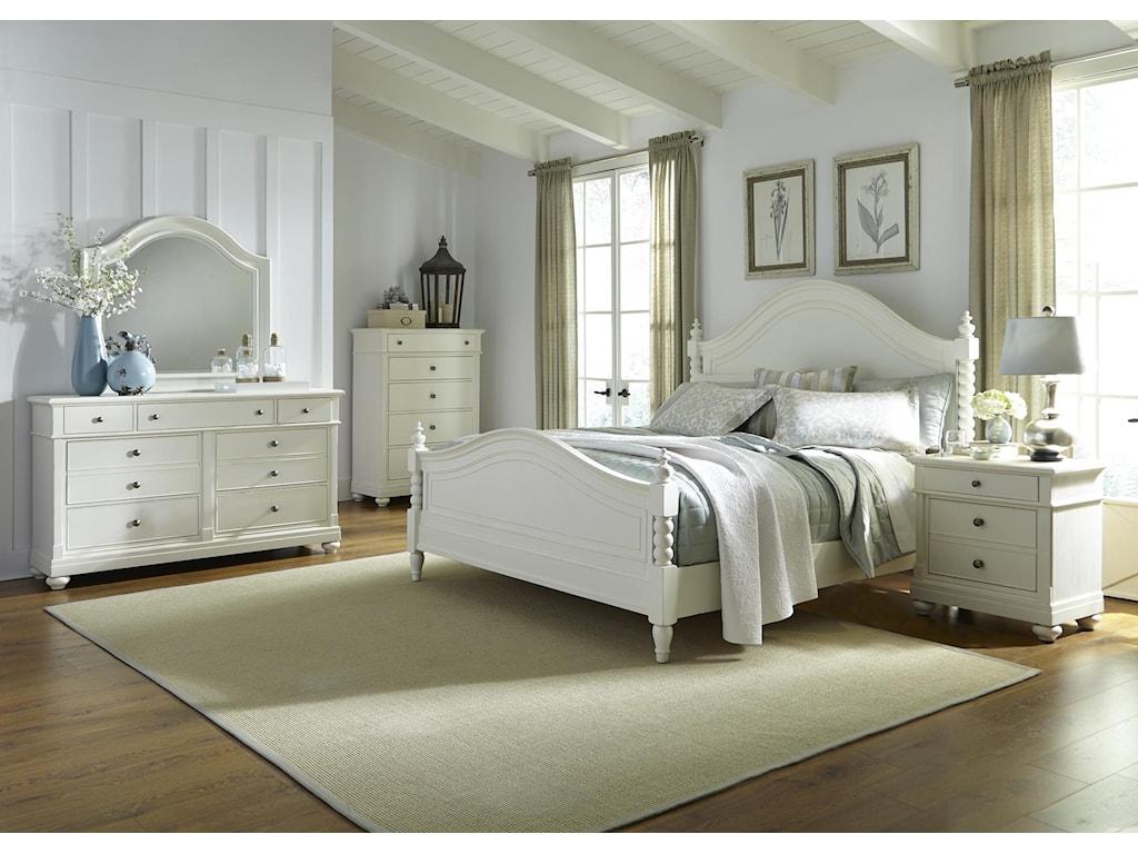Liberty Furniture Harbor ViewQueen Bedroom Group