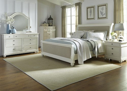 Liberty Furniture Harbor View Queen Sleigh Bedroom Group