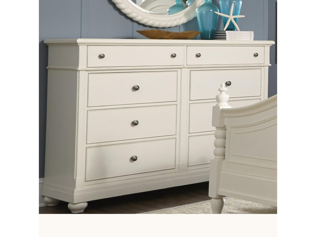 Liberty Furniture Harbor ViewDresser with 8 Drawers