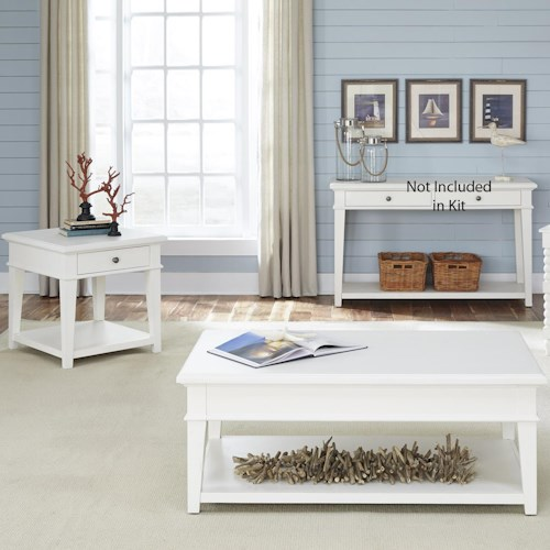 Liberty Furniture Harbor View 3 Piece Occasional Table Set