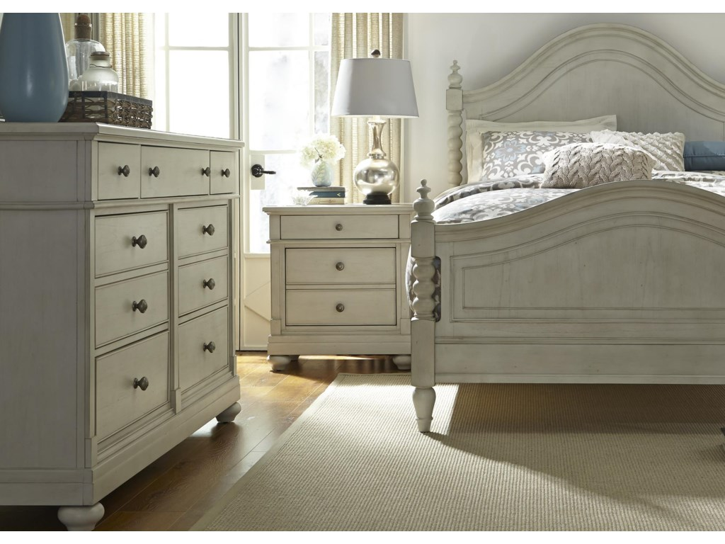 Liberty Furniture Harbor ViewQueen Bedroom Group