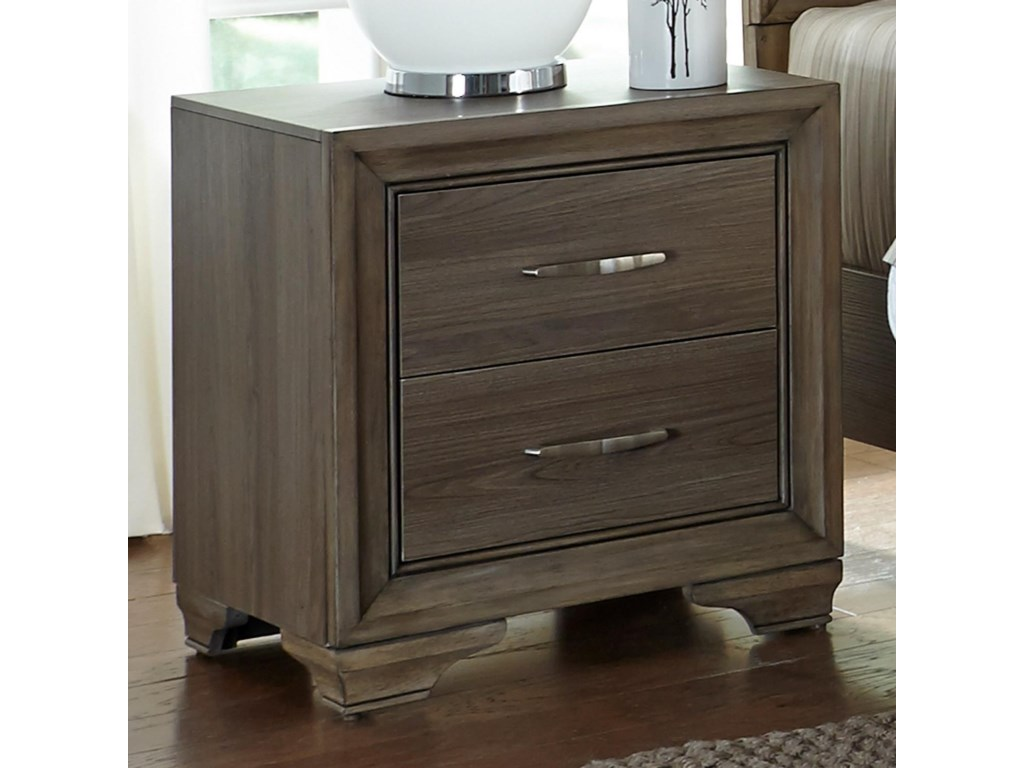 Liberty Furniture Hartly2 Drawer Night Stand
