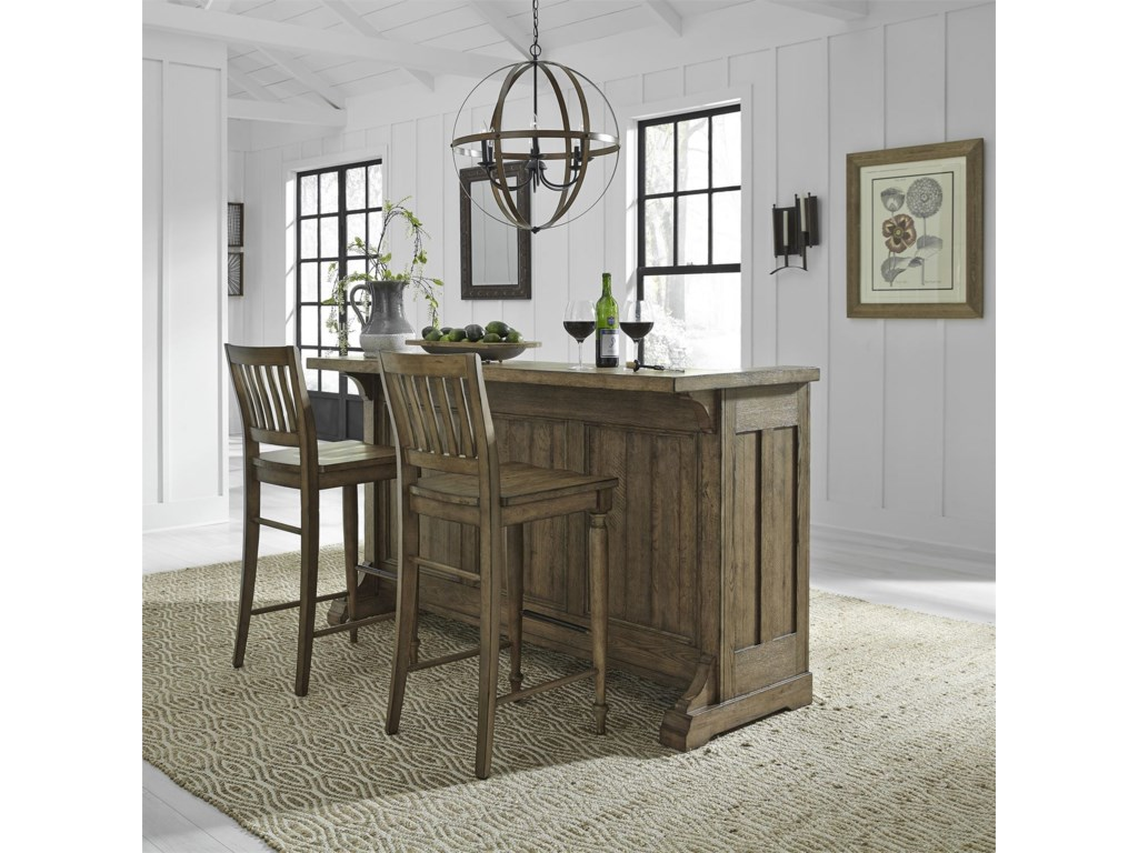 Liberty Furniture Harvest HomeBar
