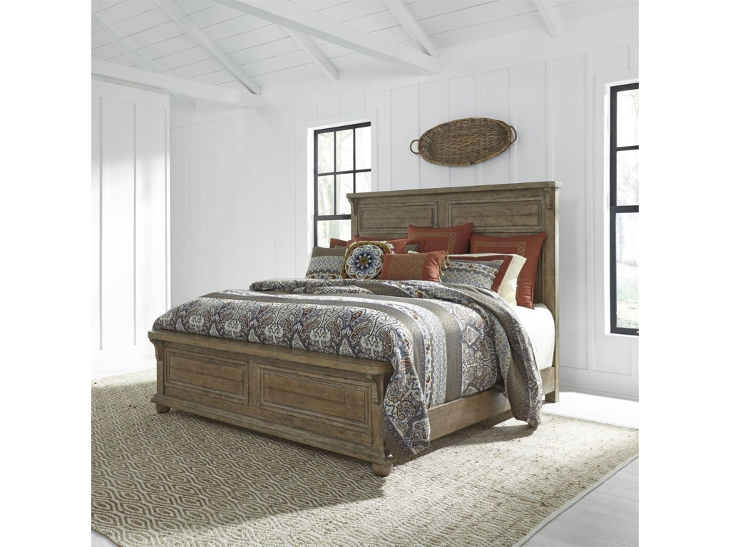 Liberty Furniture Harvest HomeKing Bedroom Group