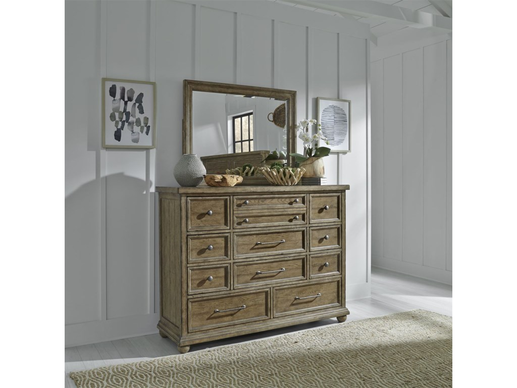 Liberty Furniture Harvest HomeKing Bedroom Group