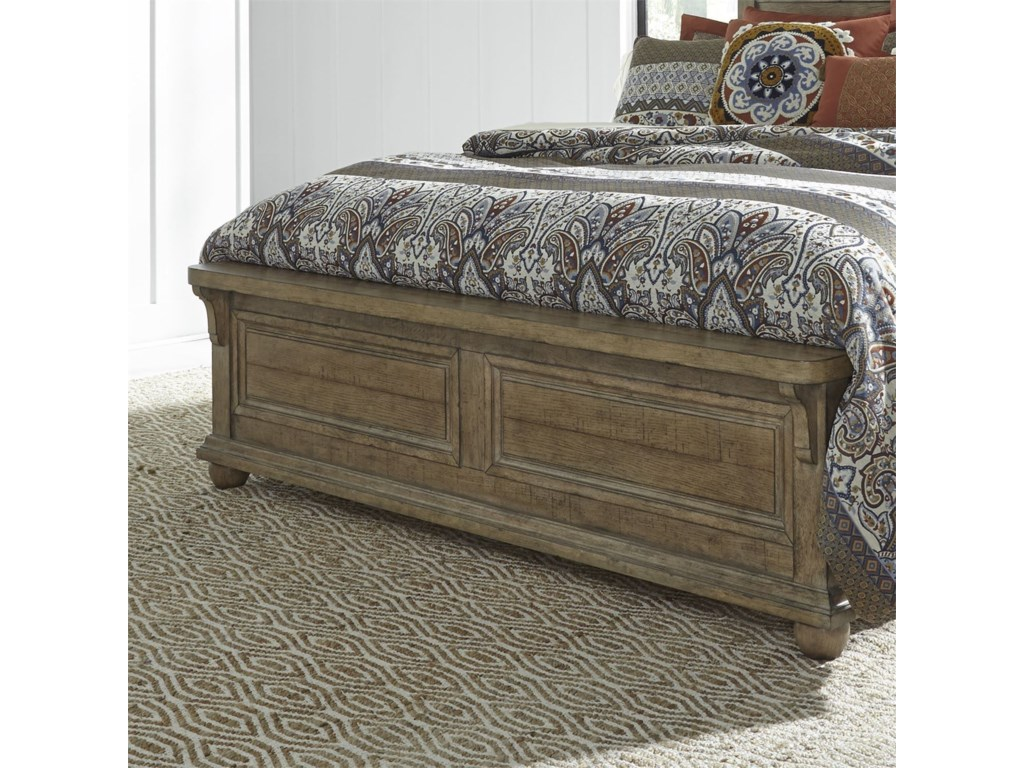 Liberty Furniture Harvest HomeQueen Panel Bed