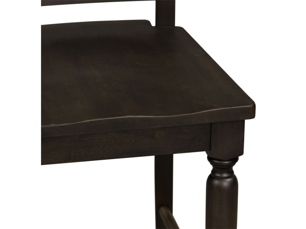 Liberty Furniture Harvest HomeSlat Back Counter Chair