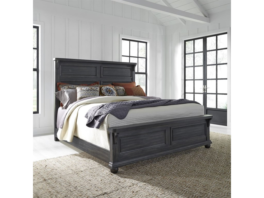 Liberty Furniture Harvest HomeQueen Bedroom Group