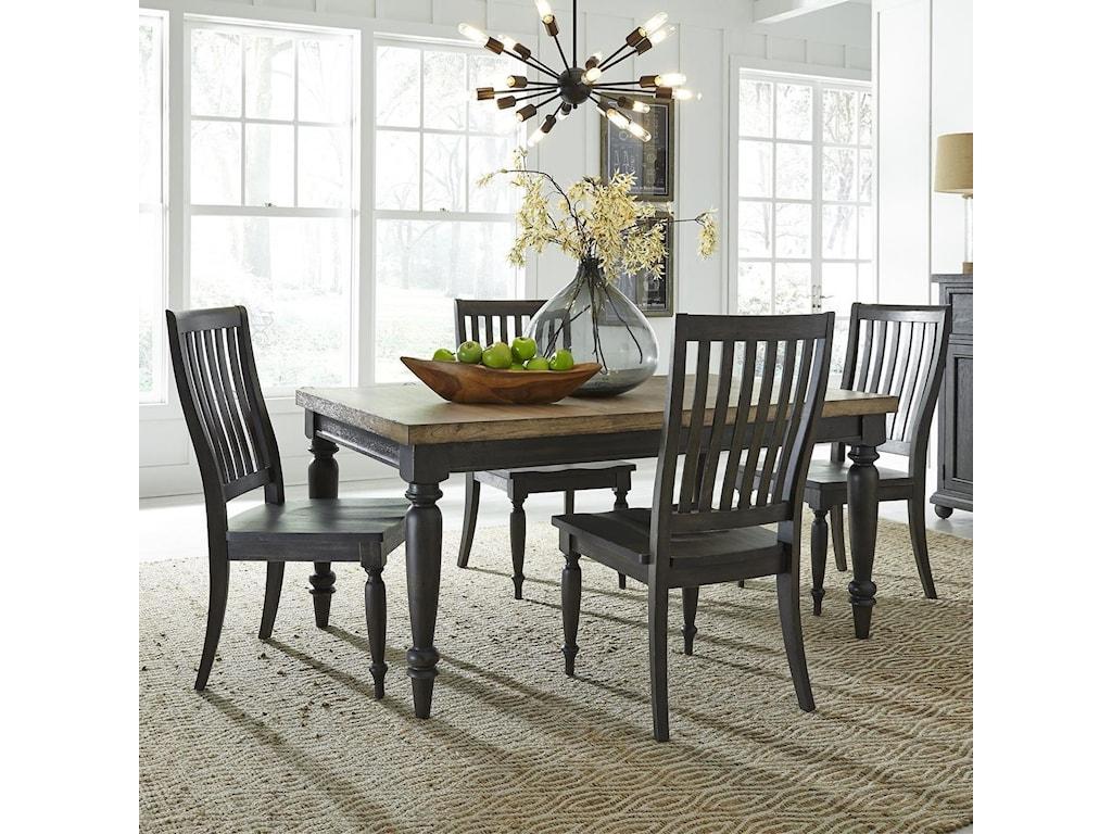 Liberty Furniture Harvest Home5-Piece Rectangular Table Set