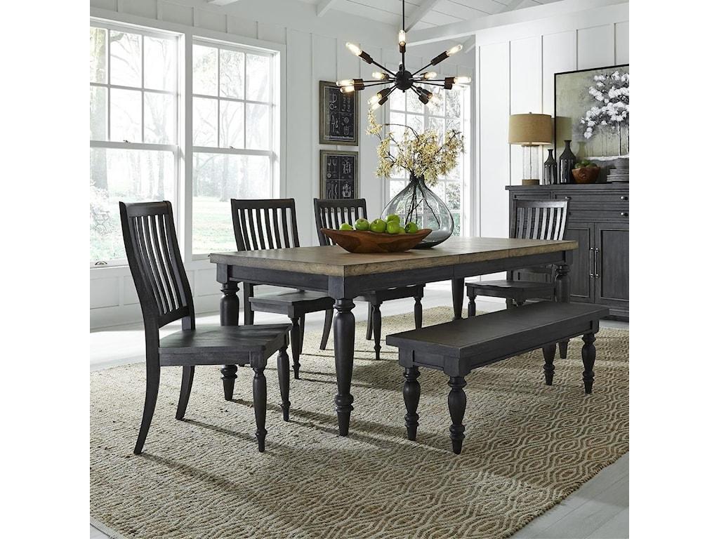 Liberty Furniture Harvest Home6-Piece Rectangular Table Set