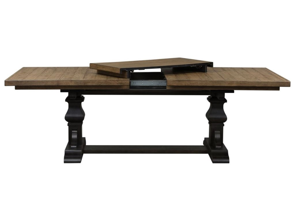 Liberty Furniture Harvest HomeTrestle Table