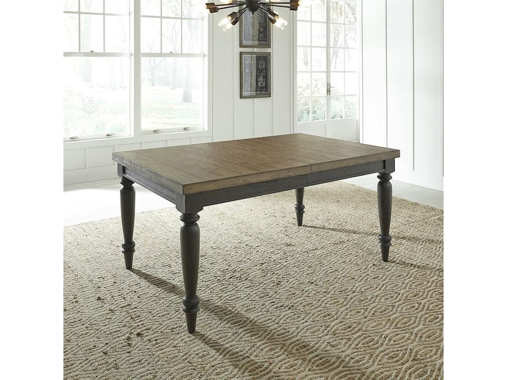 Liberty Furniture Harvest HomeRectangular Leg Table