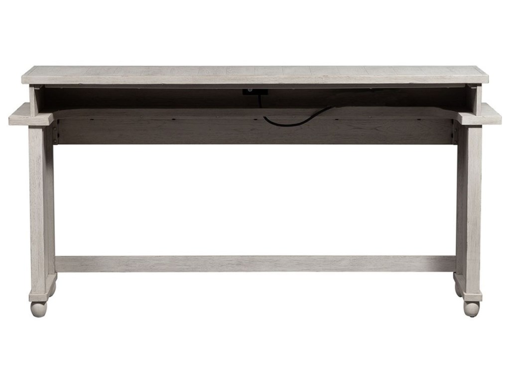 Liberty Furniture Harvest HomeConsole Bar Table