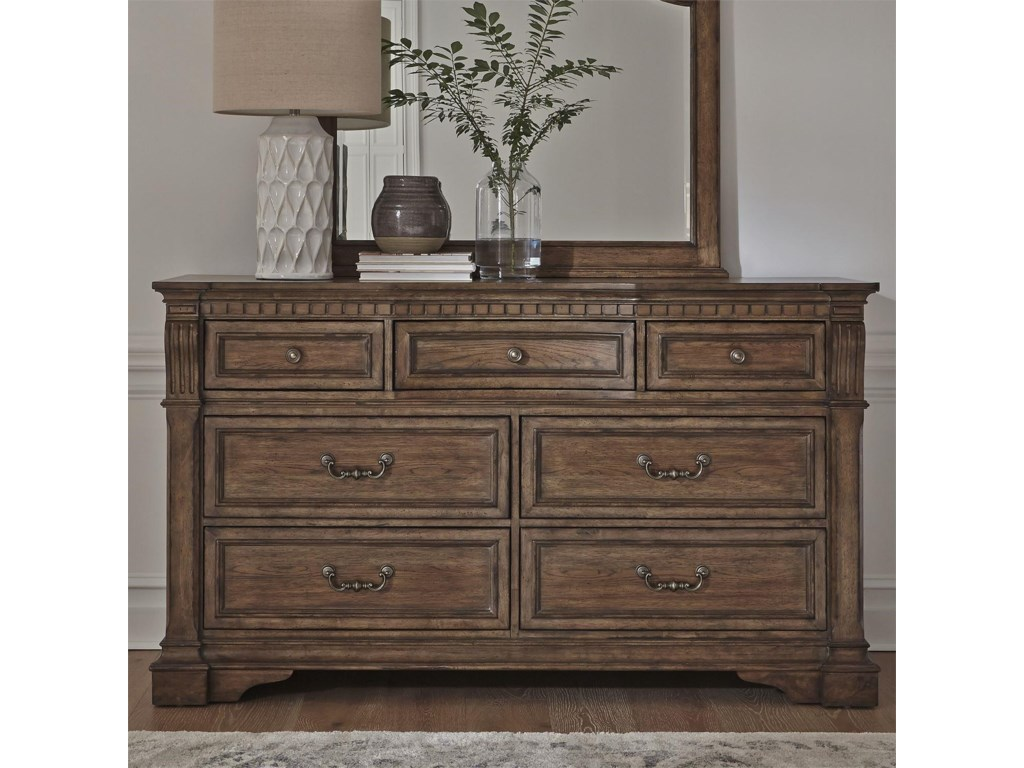 Liberty Furniture Haven HallQueen 5 Pc Group