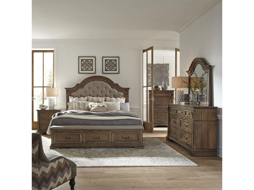 Liberty Furniture Haven HallKing 5 Pc Group
