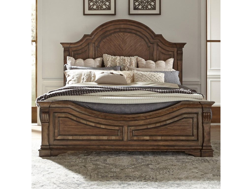 Liberty Furniture Haven HallKing Panel Bed