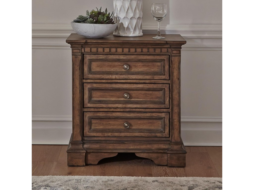 Liberty Furniture Haven Hall3-Drawer Nightstand
