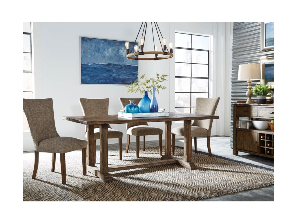 Liberty Furniture Havenbrook5 Piece Trestle Dining Set