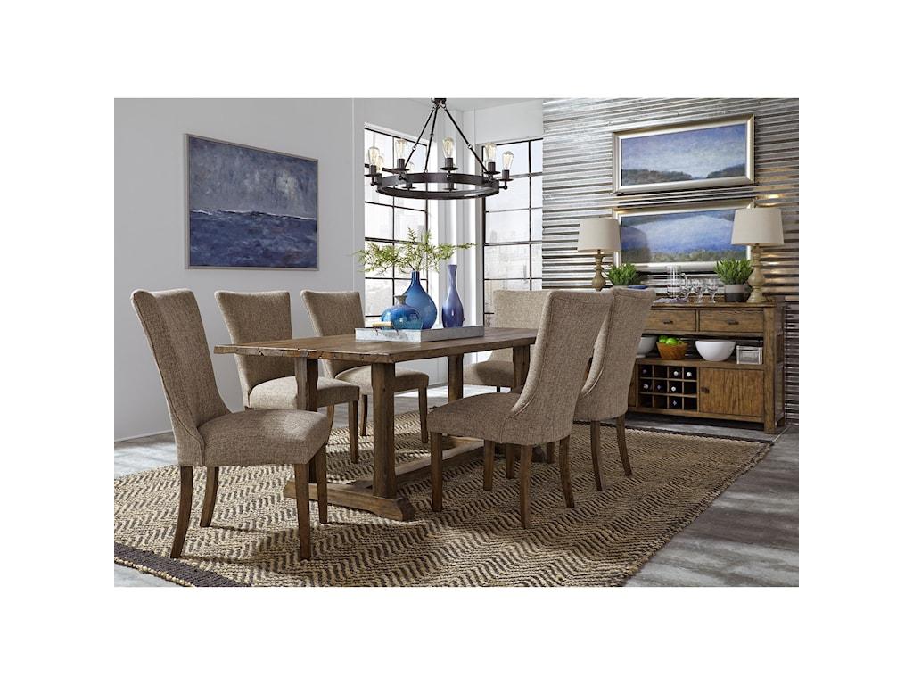 Liberty Furniture Havenbrook7 Piece Trestle Dining Set