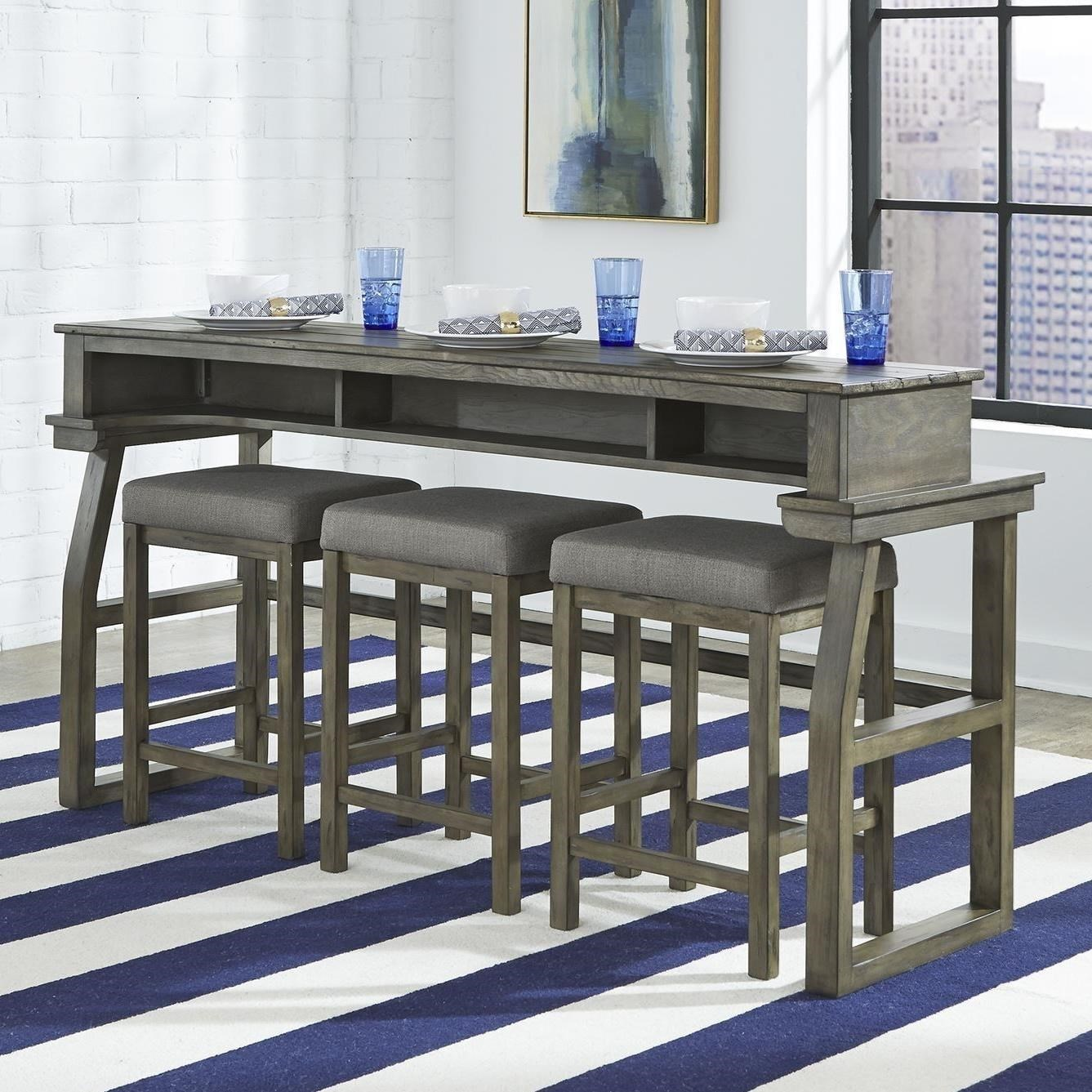 Casual Console Bar Table