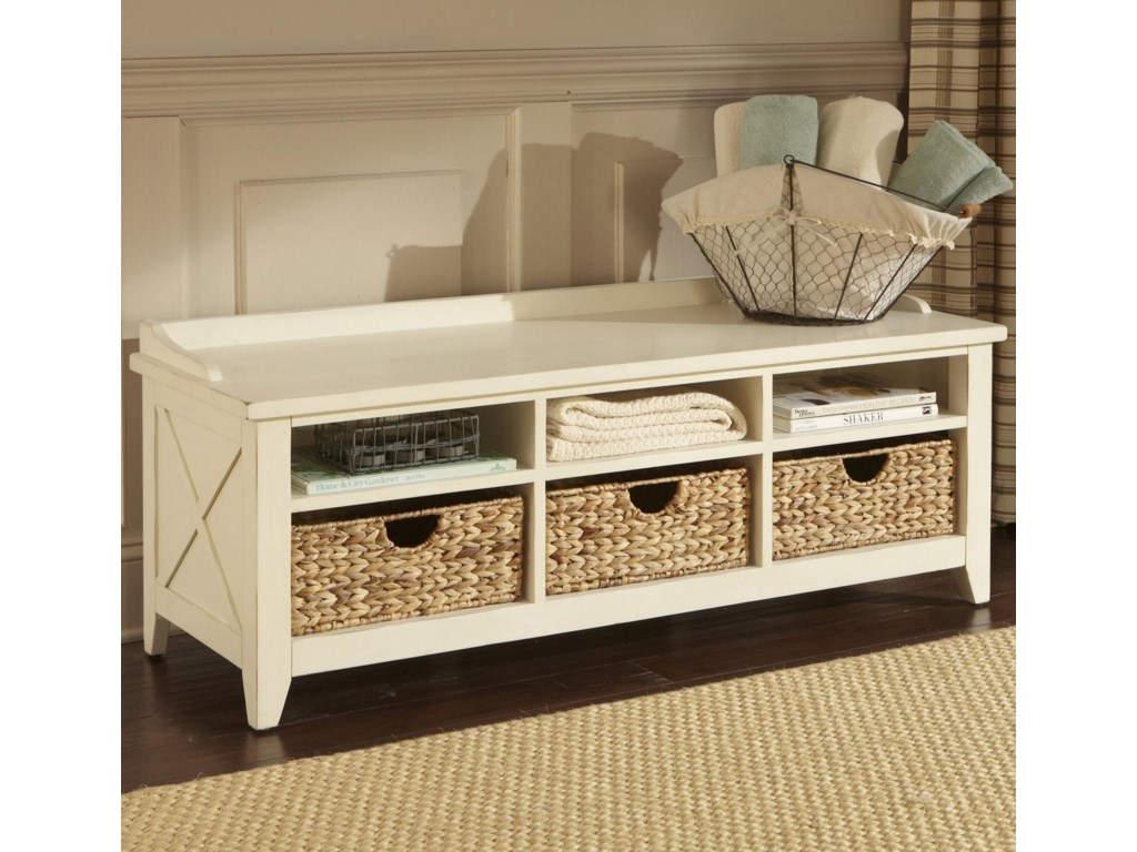 Liberty Furniture HearthstoneCubby Storage Bench