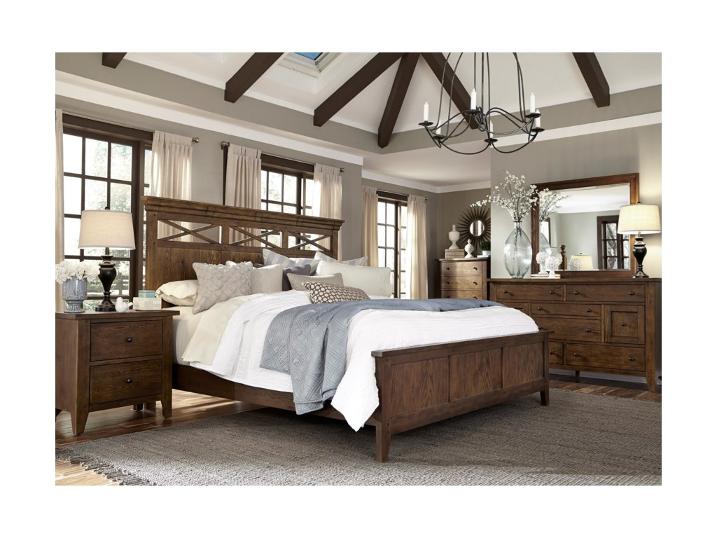 Sarah Randolph Designs HearthstoneKing Panel Bedroom Group