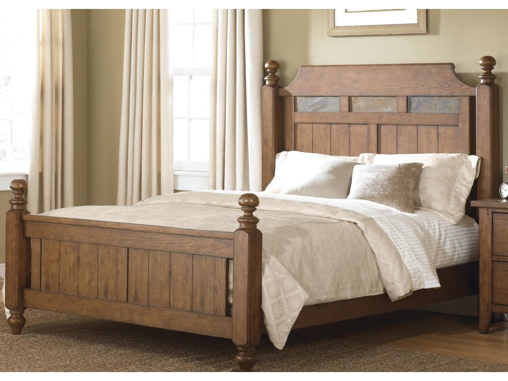 Liberty Furniture HearthstoneKing Poster Bed