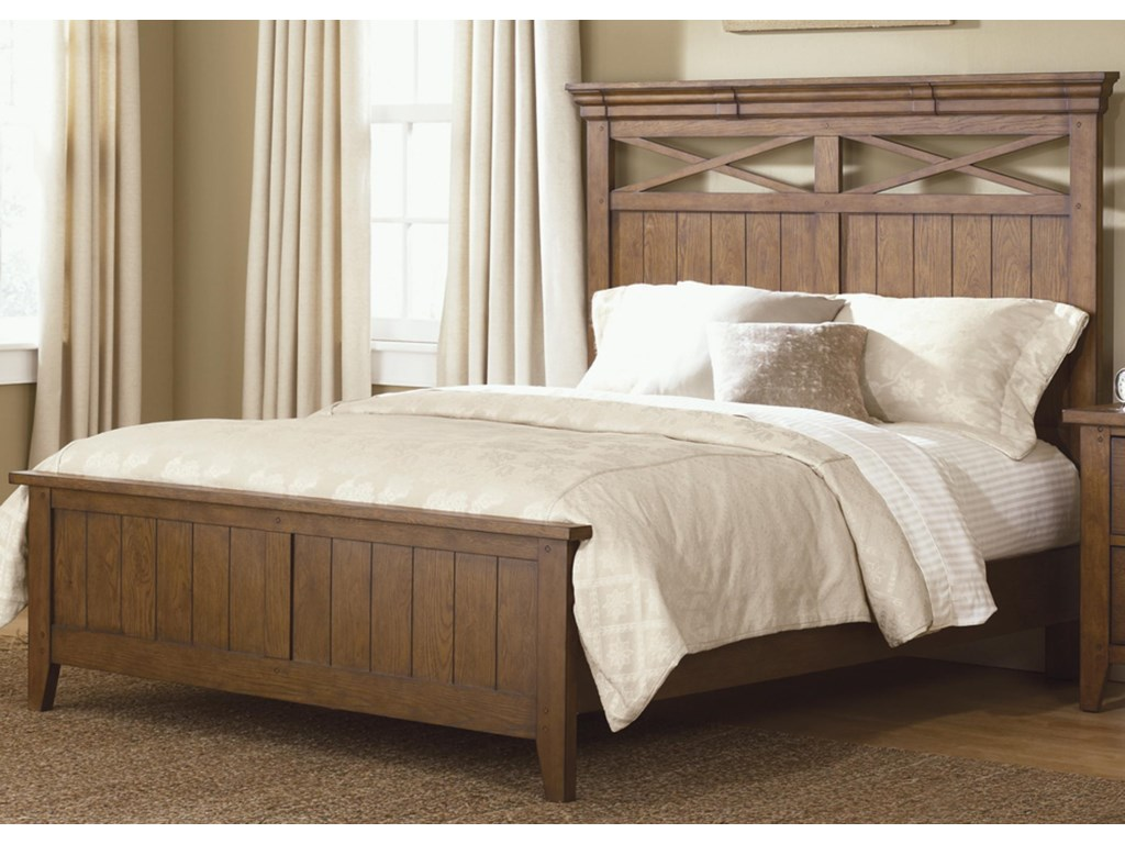 Shown as Complete Bed with Footboard and Rails