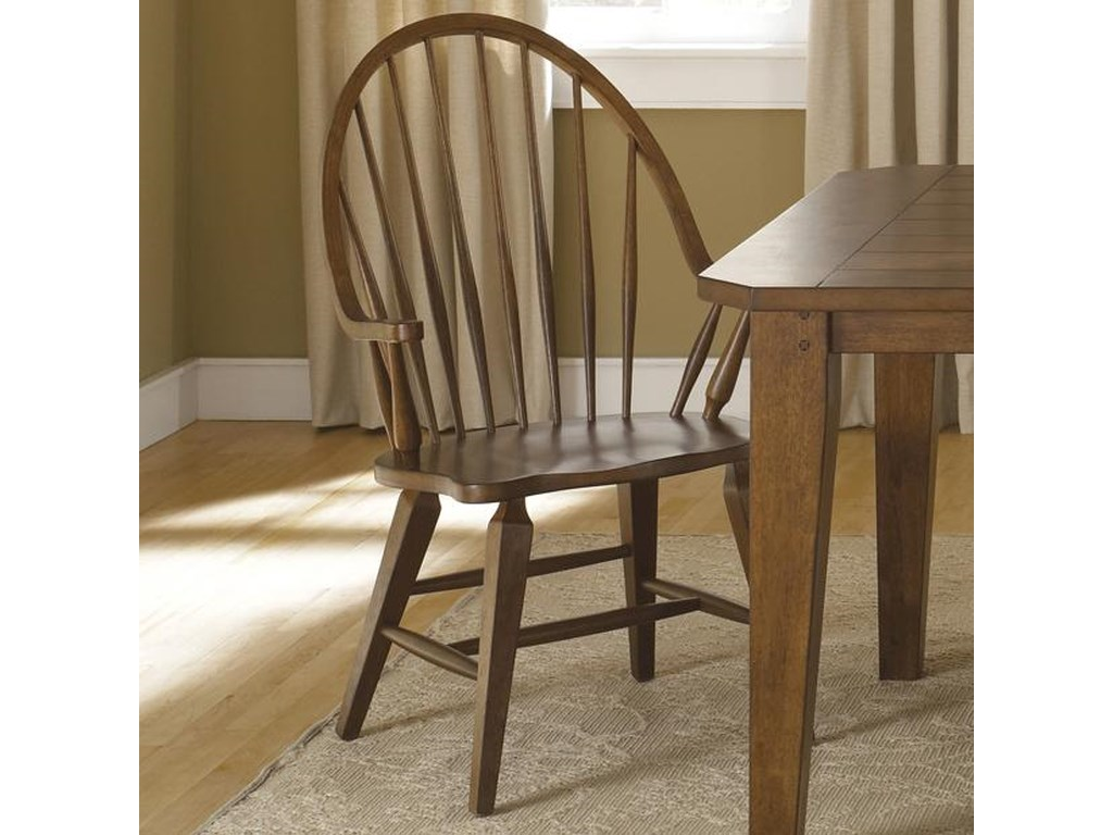 Liberty Furniture HearthstoneWindsor Back Arm Chair