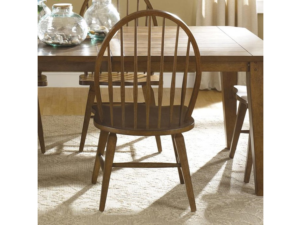 Sarah Randolph Designs HearthstoneWindsor Back Side Chair