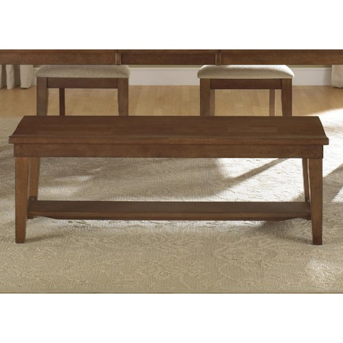 Liberty Furniture Bunker Hill Dining Bench
