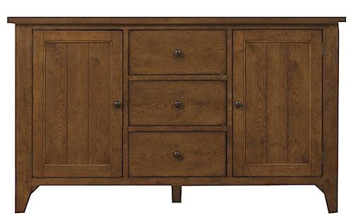 Liberty Furniture Hearthstone Three-Drawer, Two-Door Buffet