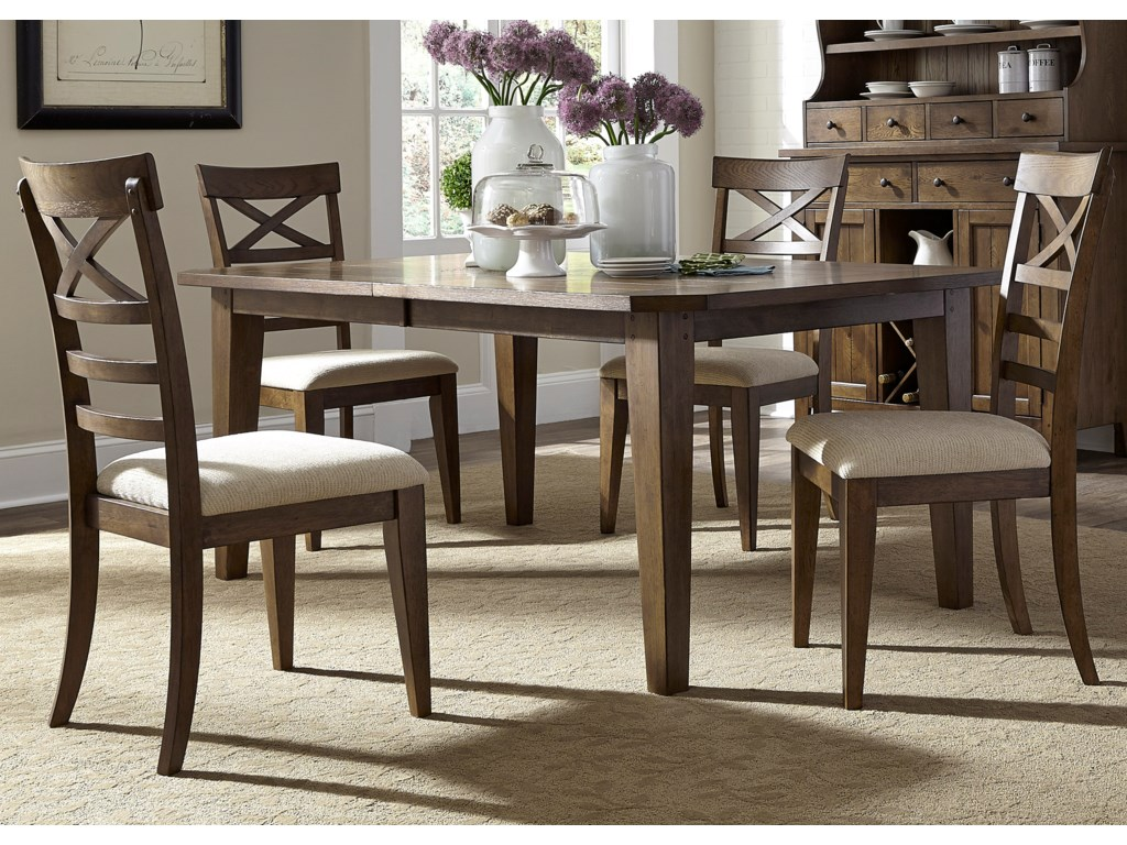 Liberty Furniture Hearthstone5 Piece Rectangular Table Set