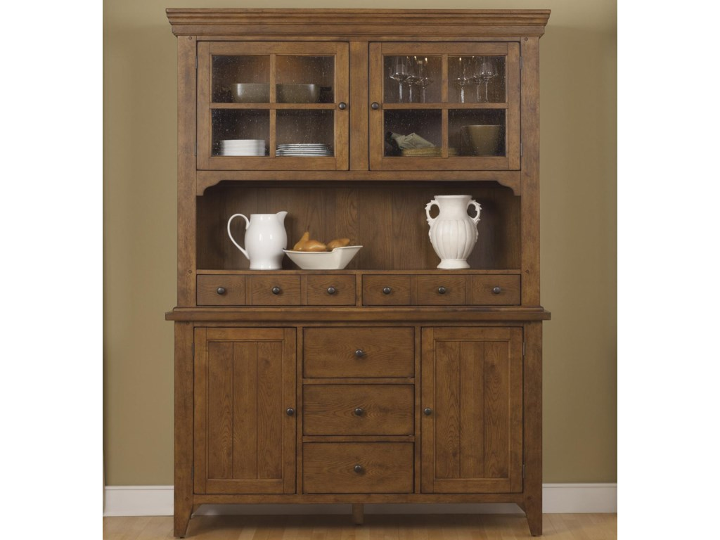 Liberty Furniture HearthstoneHutch & Buffet