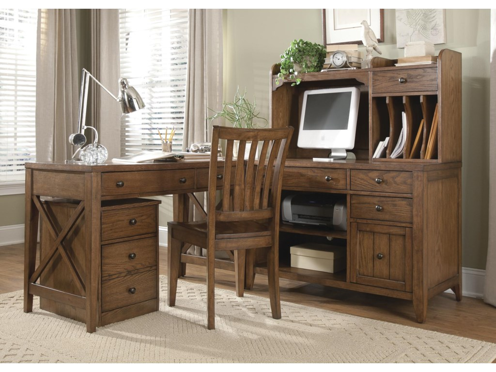 Liberty Furniture HearthstoneL-Shaped Desk