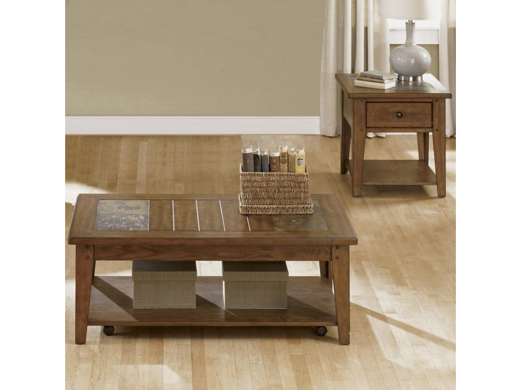 Sarah Randolph Designs Hearthstone3 Piece Occasional Table Set