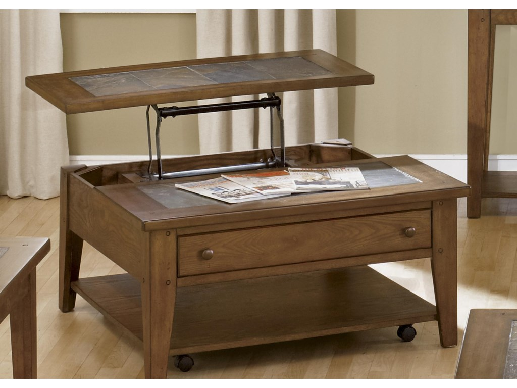 Liberty Furniture HearthstoneLift Top Cocktail Table