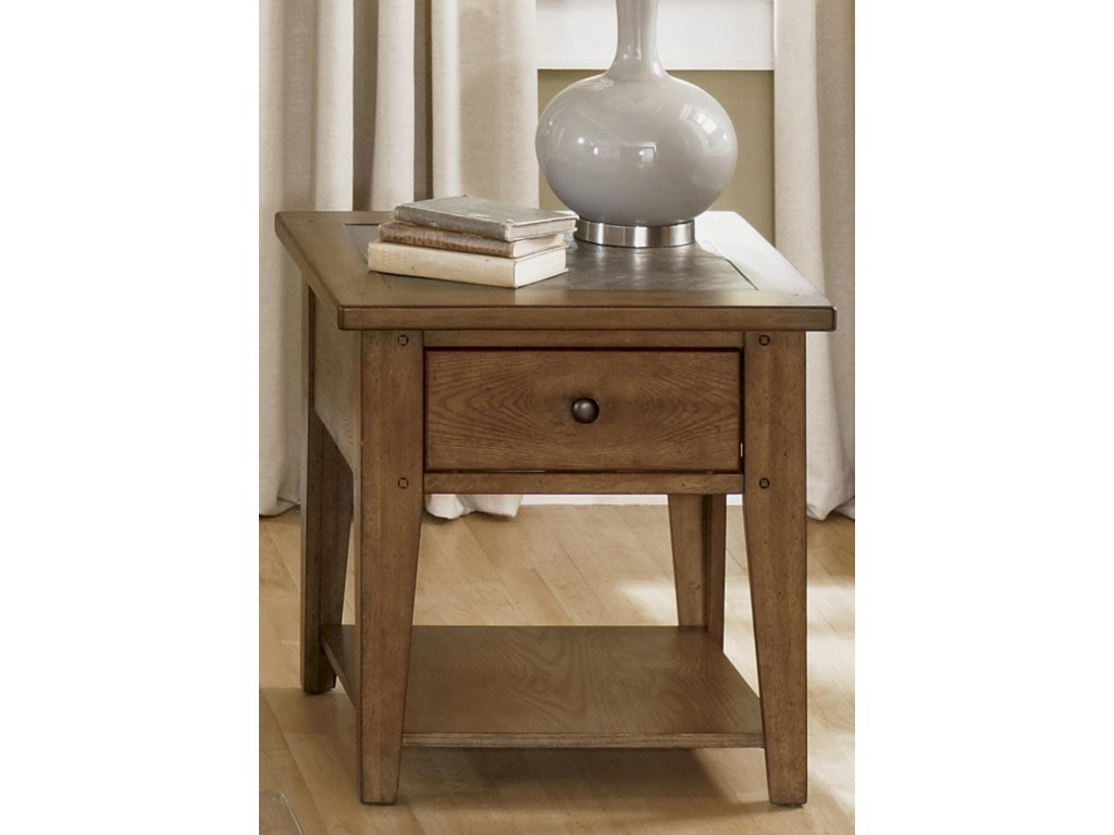 Liberty Furniture HearthstoneEnd Table