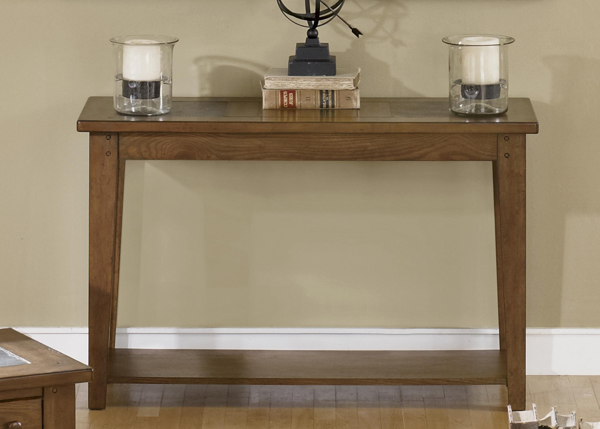 Liberty Furniture HearthstoneSofa Table ...