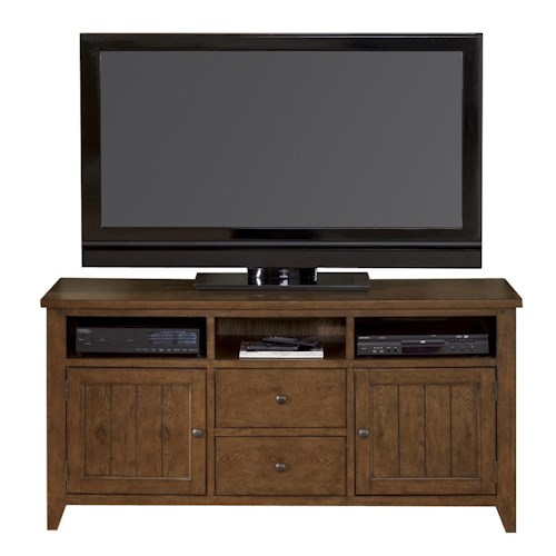 Liberty Furniture Bunker Hill Entertainment TV Stand