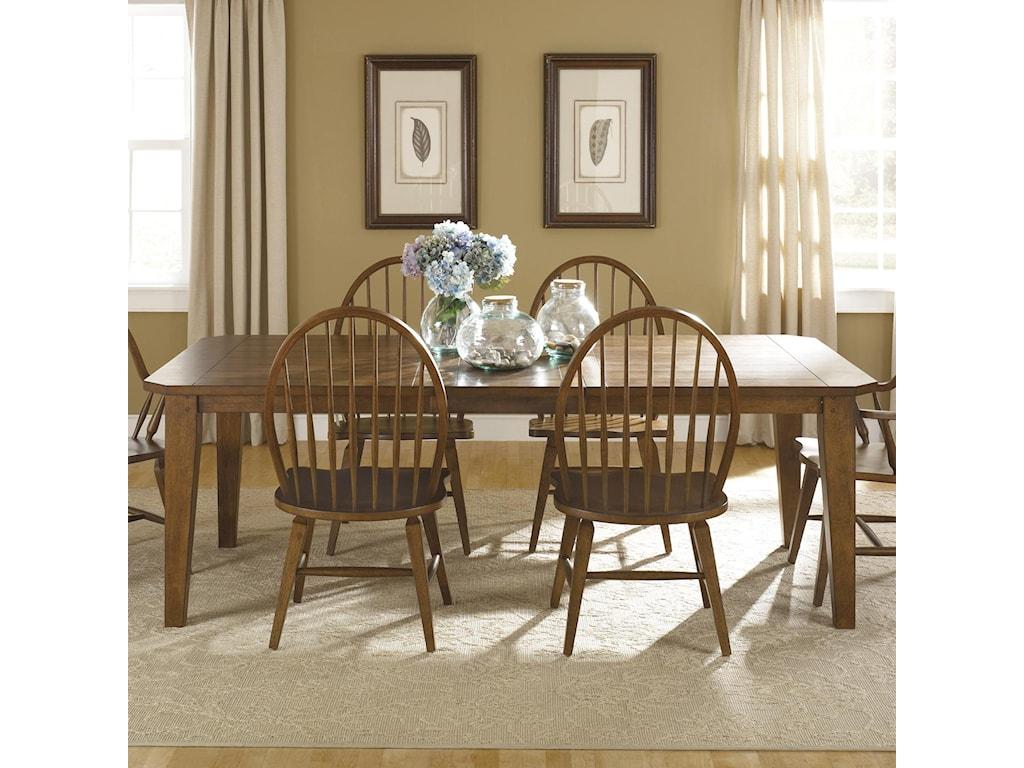 Liberty Furniture HearthstoneRectangular Leg Table