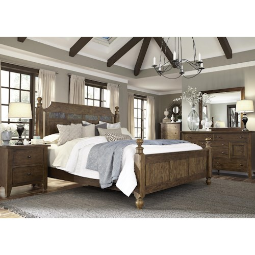 Liberty Furniture Hearthstone King Bedroom Group
