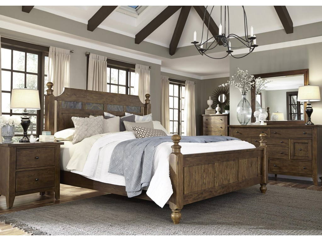 Liberty Furniture HearthstoneQueen Bedroom Group