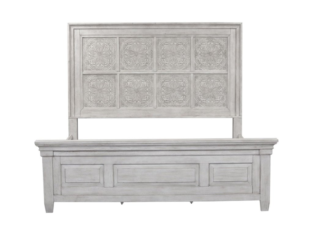 Vendor 5349 HeartlandQueen Panel Bed