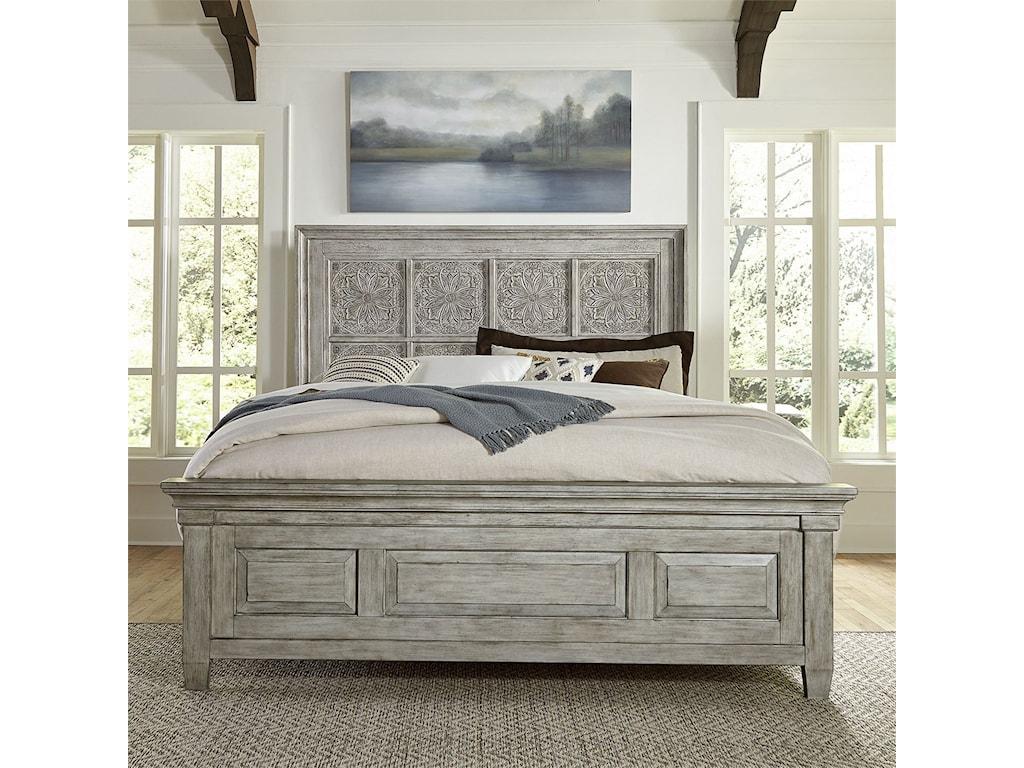 Vendor 5349 HeartlandQueen Panel Bed