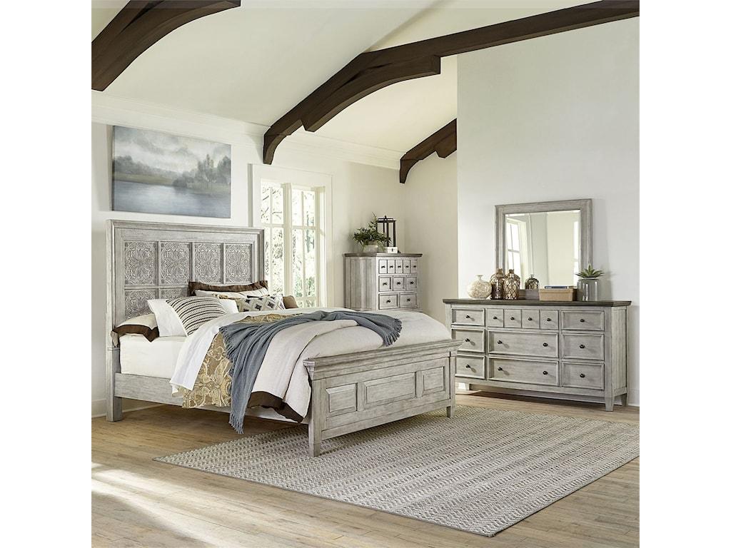 Liberty Furniture HeartlandQueen Bedroom Group