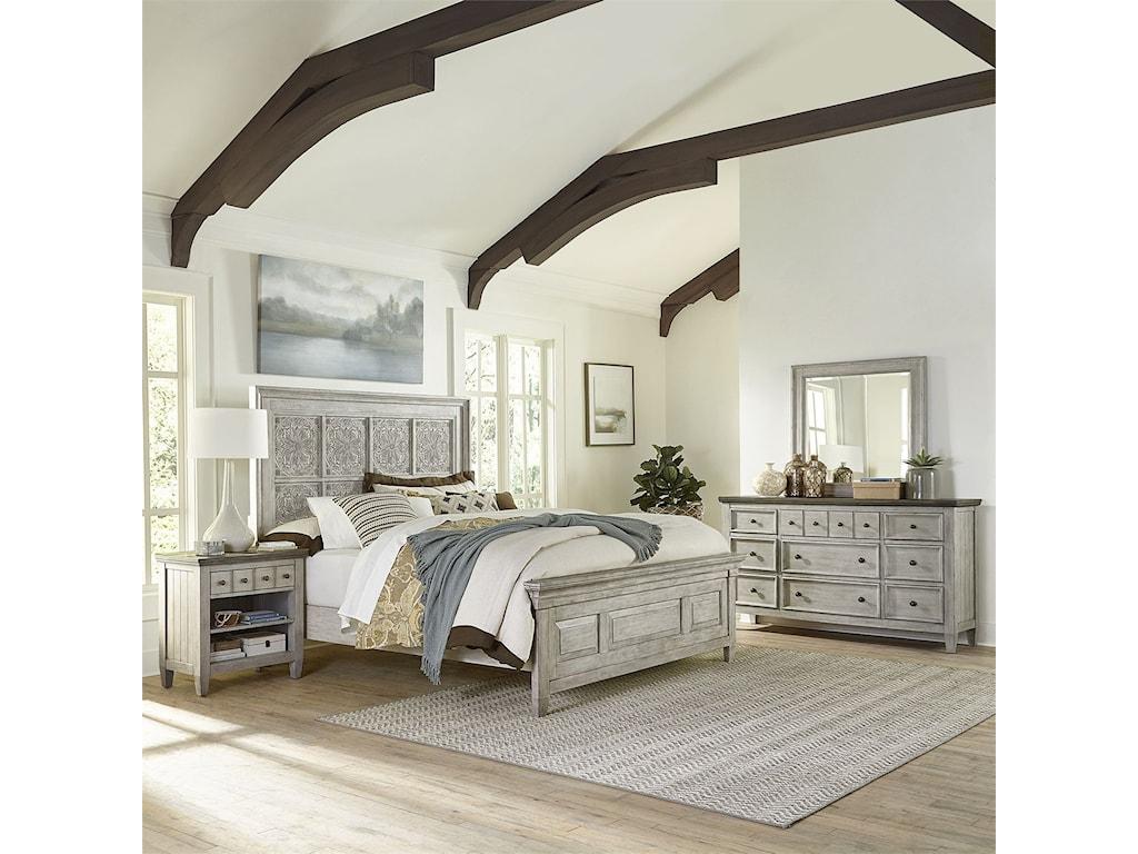 Vendor 5349 HeartlandKing Bedroom Group