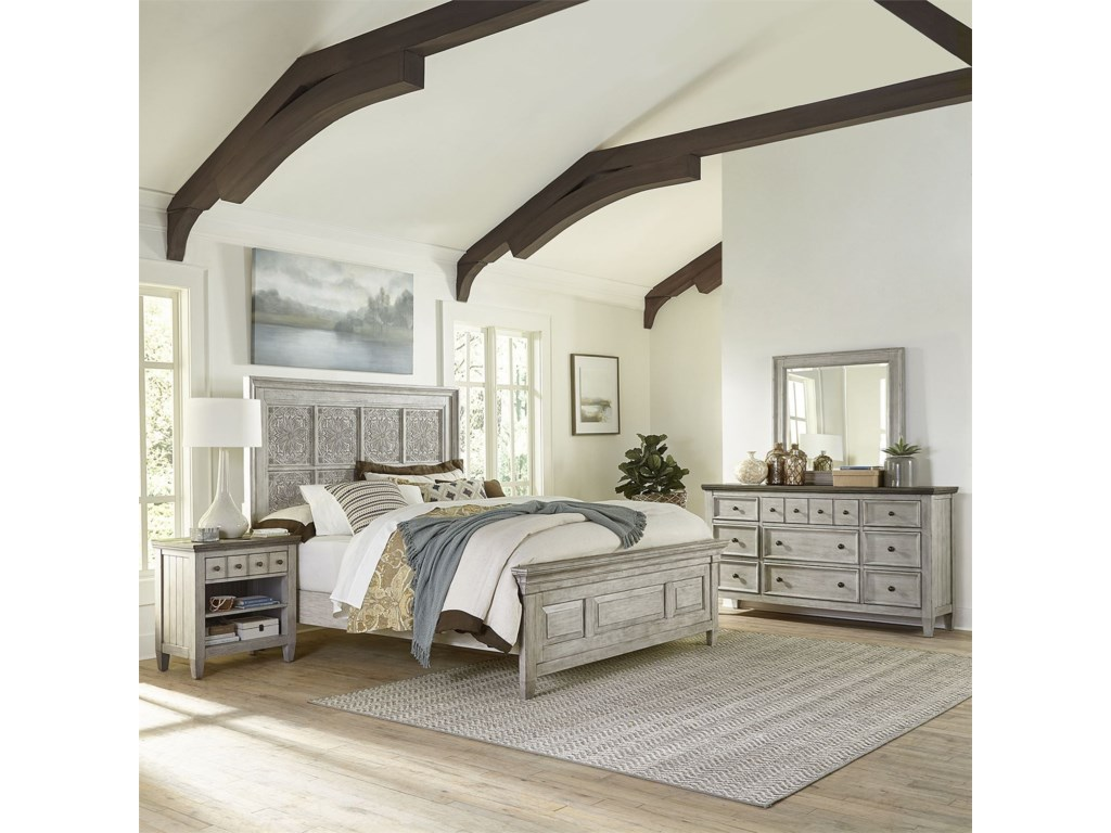 Liberty Furniture HeartlandKing Bedroom Group